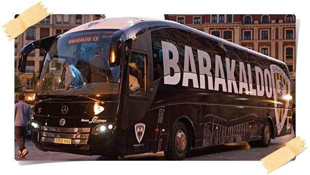 Autobús Barakaldo CF